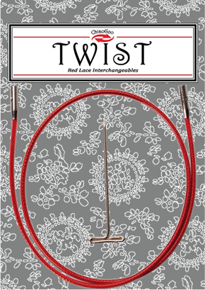 ChiaoGoo Twist Red kabel Large